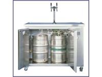 Installation pour fût à bière - 2 pompes